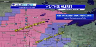 Weather Alerts as of 9:00 PM 12/27/2019