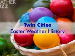 Twin Cities Easter Weather History